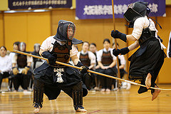Naginata_fight